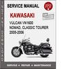 Thumbnail Kawasaki Vulcan VN1600 Nomad, Classic Tourer 2005-2006 Servi