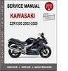 Thumbnail Kawasaki ZZR1200 2002-2005 Service Repair Manual PDF