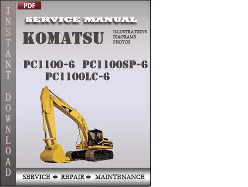 Komatsu Pc1100