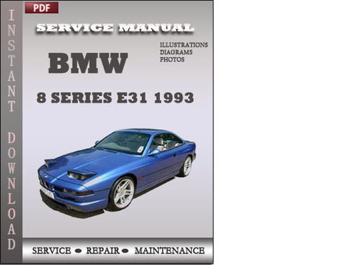 car owners manuals free downloads 1993 bmw 8 series. Black Bedroom Furniture Sets. Home Design Ideas