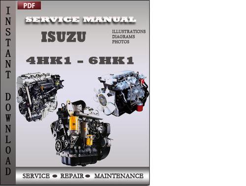 isuzu engine 4hk1 6hk1 factory service repair manual download