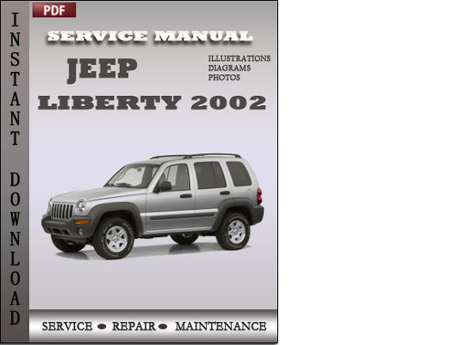 Jeep Liberty Owners Manual 2002