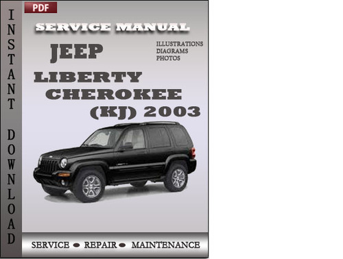 jeep liberty cherokee 2003 factory service repair manual. Black Bedroom Furniture Sets. Home Design Ideas