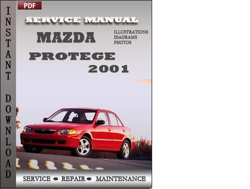 mazda protege 2001 factory service repair manual download downloa rh tradebit com 2001 mazda protege repair manual 2001 Protege Bumper Insert