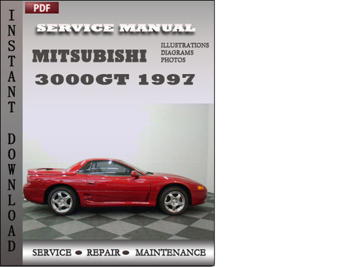 mitsubishi 3000gt 1997 factory service repair manual download dow rh tradebit com mitsubishi gto owners manual mitsubishi 3000gt service manual