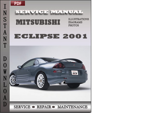 Mitsubishi Eclipse 2001 Factory Service Repair Manual Download - Do...