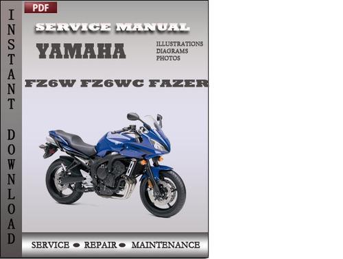 Yamaha fazer 150 service manual pdf