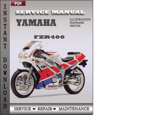 yamaha fzr400 factory service repair manual download. Black Bedroom Furniture Sets. Home Design Ideas