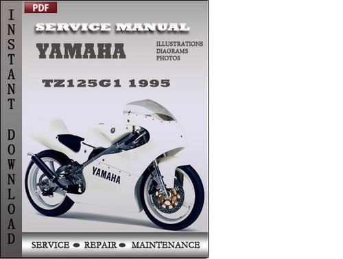 yamaha tz125g1 1995 factory service repair manual download. Black Bedroom Furniture Sets. Home Design Ideas