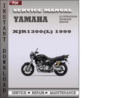yamaha xjr1300 l 1999 factory service repair manual download dow rh tradebit com yamaha xjr 1300 workshop manual pdf yamaha xjr 1300 repair manual