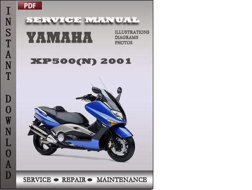 Pay for Yamaha XP500(N) 2001 Factory Service Repair Manual Download