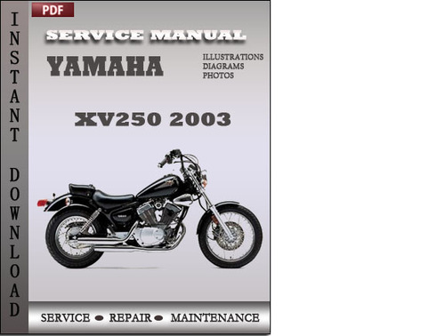 yamaha xv250 2003 factory service repair manual download download rh tradebit com Yamaha Yzfr6jw Yamaha TTR230