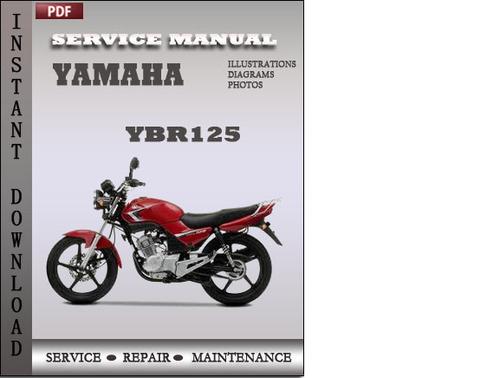 yamaha ybr 125 ed service manual product user guide instruction u2022 rh testdpc co Yamaha Outboard Motor Manuals Yamaha Schematics