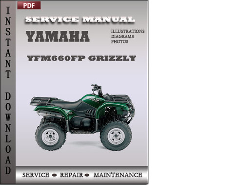 Yamaha Yfm660fp Grizzly Factory Service Repair Manual