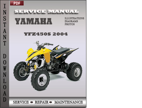 yamaha yfz450s 2004 factory service repair manual download. Black Bedroom Furniture Sets. Home Design Ideas