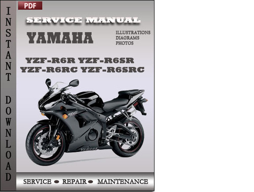 yamaha yzf r6r yzf r6sr yzf r6rc yzf r6src factory service. Black Bedroom Furniture Sets. Home Design Ideas
