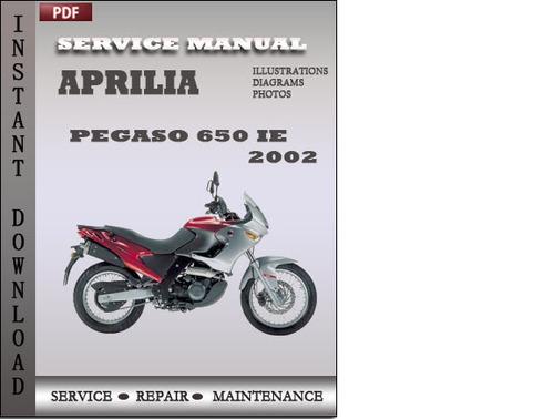Pay for Aprilia Pegaso 650 IE 2002 Factory Service Repair Manual Download