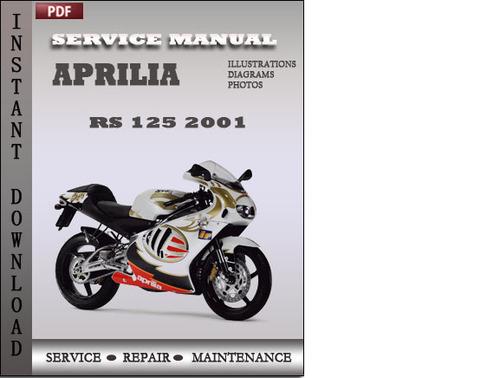 aprilia rs 125 2001 factory service repair manual download downlo rh tradebit com Honda XRM Modified Honda Wave 125