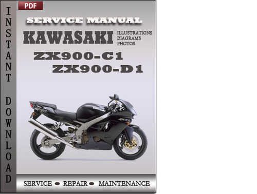 Pay for Kawasaki ZX900-C1 ZX900-D1 Factory Service Repair Manual Download