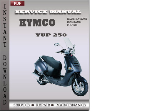 Kymco Yup 250 Factory Service Repair Manual Download