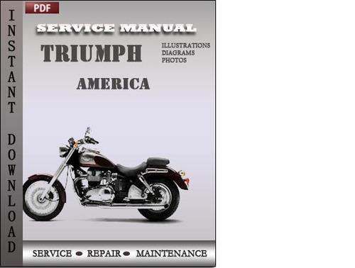 Pay for Triumph America Factory Service Repair Manual Download