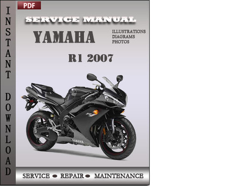yamaha r1 2007 factory service repair manual download download ma rh tradebit com free 2008 yamaha r1 service manual Yamaha R1 Motorcycles
