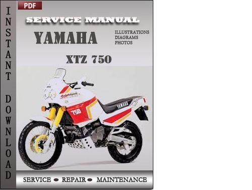 yamaha xtz 750 factory service repair manual download. Black Bedroom Furniture Sets. Home Design Ideas