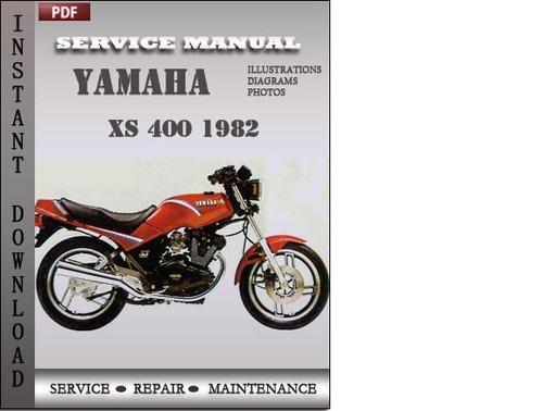 yamaha xs 400 1982 factory service repair manual download. Black Bedroom Furniture Sets. Home Design Ideas
