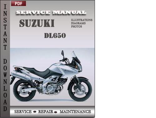 suzuki dl650 factory service repair manual download download manu rh tradebit com suzuki dl 650 v strom manual suzuki dl 650 manual pdf