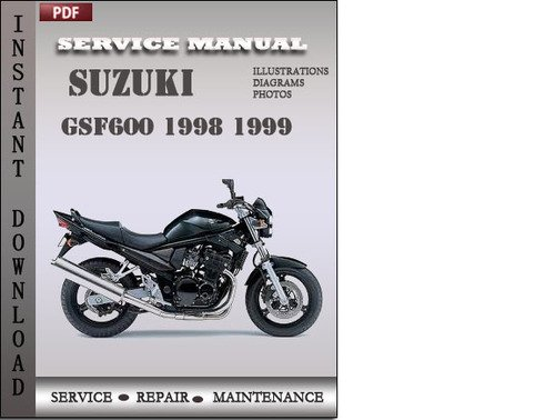 Pay for Suzuki GSF600 1998 1999 Factory Service Repair Manual Download