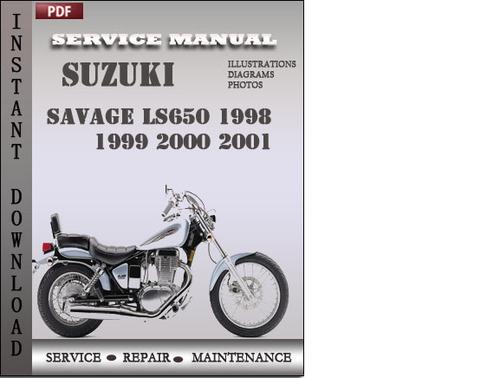 suzuki savage ls650 1998 1999 2000 2001 factory service repair manu rh tradebit com 2000 Suzuki Savage Orange 2001 Suzuki Savage 650 Review