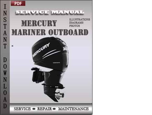 mercury mariner outboard 115 hp 4 stroke factory service repair man rh tradebit com mercury outboard manual 1968 mercury outboard manuals free downloads