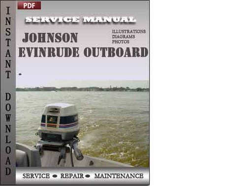 Johnson Outboard 1 To 60 Hp Factory Service Repair Manual