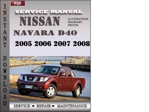 navara d40 service manual pdf