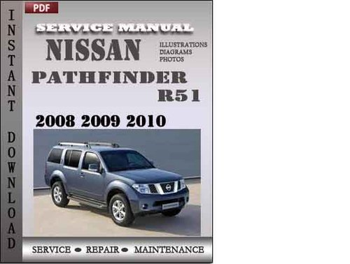 2008 nissan pathfinder service manual pdf