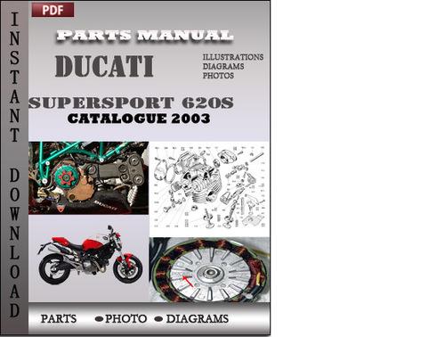 Ducati Supersport 620s 2003 Parts Manual Catalog Pdf