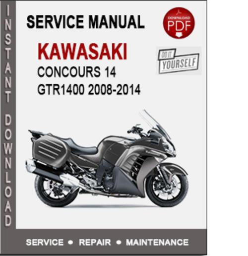 Kawasaki Gtr1400 2008-2014 Service Repair Manual Pdf
