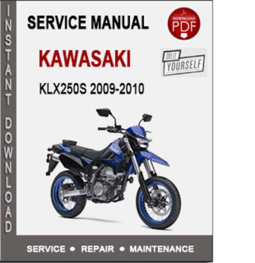 Kawasaki Klx250s 2009