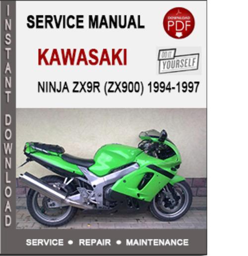 kawasaki ninja zx9r zx900 1994 1997 service repair manual down rh tradebit com kawasaki zx9r 1999 service manual kawasaki zx9r 2002 manual