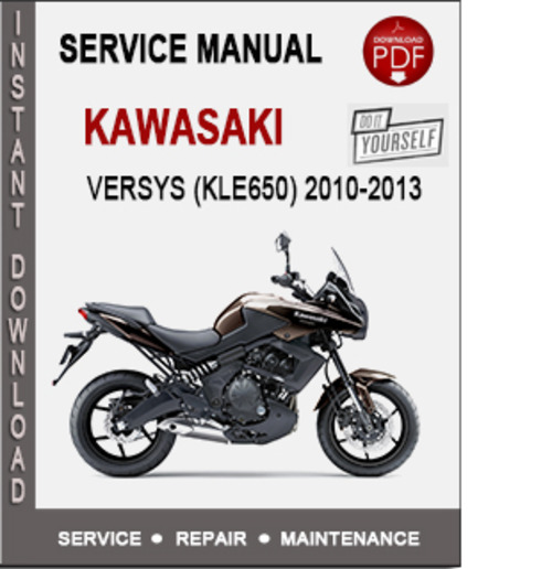 kawasaki versys kle650 2010 2013 service repair manual pdf down rh tradebit com Kawasaki Versys 2009 Kawasaki Versys 2009