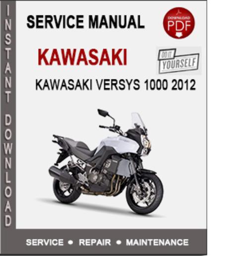 kawasaki versys manual download