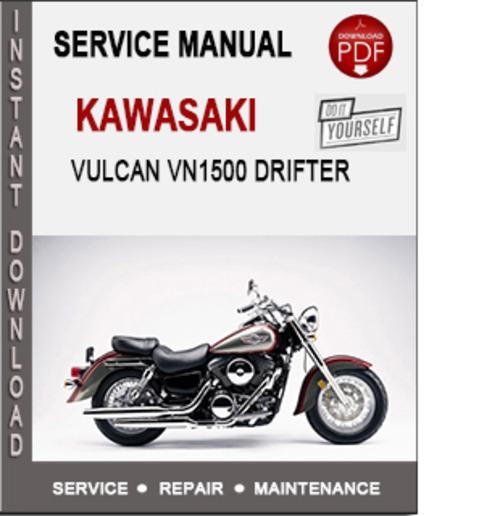 Pay for Kawasaki Vulcan VN1500 Drifter Service Repair Manual PDF