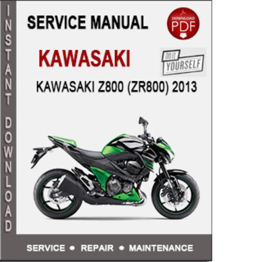 Kawasaki z800 service manual pdf.