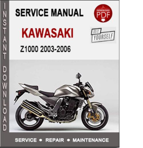 kawasaki zrx1200s 2006 repair service manual