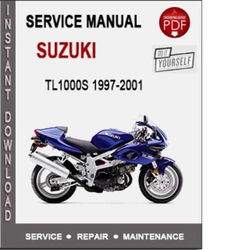 suzuki tl1000s 1997 2001 service repair manual pdf