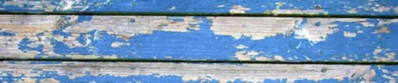 Thumbnail Flaking paint on wooden boards, web banner photo