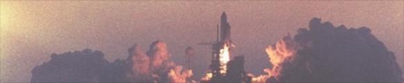 Thumbnail Space Shuttle Atlantis blastoff, web banner photo