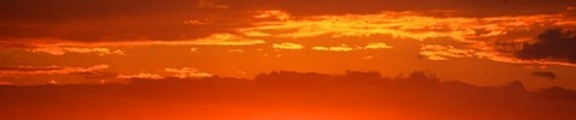 Thumbnail Sunset Clouds, web banner photo