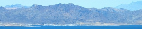 Thumbnail Blue Nevada Mountains, Web Banner Photo