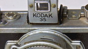 Thumbnail Vintage 35mm Film Camera close-up